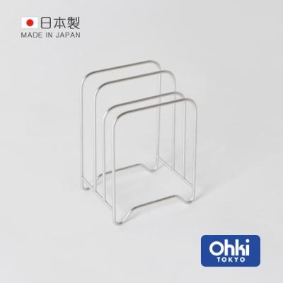 日本大木金屬 Outline 日製究極鏤線18-8不鏽鋼三層砧板瀝水架