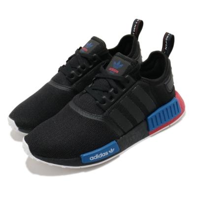 adidas 休閒鞋 NMD R1 襪套式 男鞋 愛迪達 三葉草 流行 穿搭 Boost 黑藍紅 FX4355