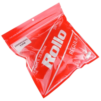 Rollo REGULAR-捲煙專用加長型活性碳濾嘴(8mm)*2包