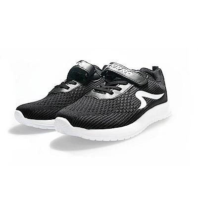 【ZEPRO】ZERO零重力輕量運動鞋(大童)-黑