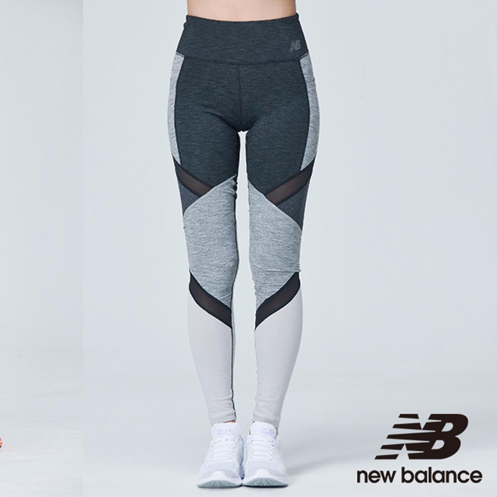 New Balance 拼接九分緊身褲 AWP83142HC 女性 灰色