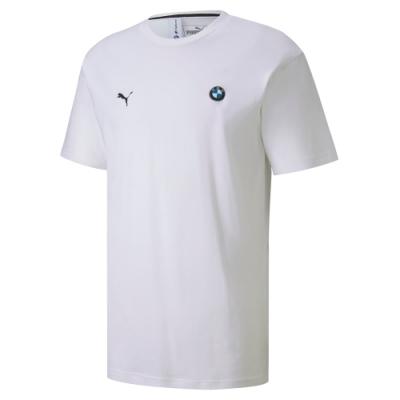 PUMA-男性BMW系列MMS Life短袖T恤-白色-歐規
