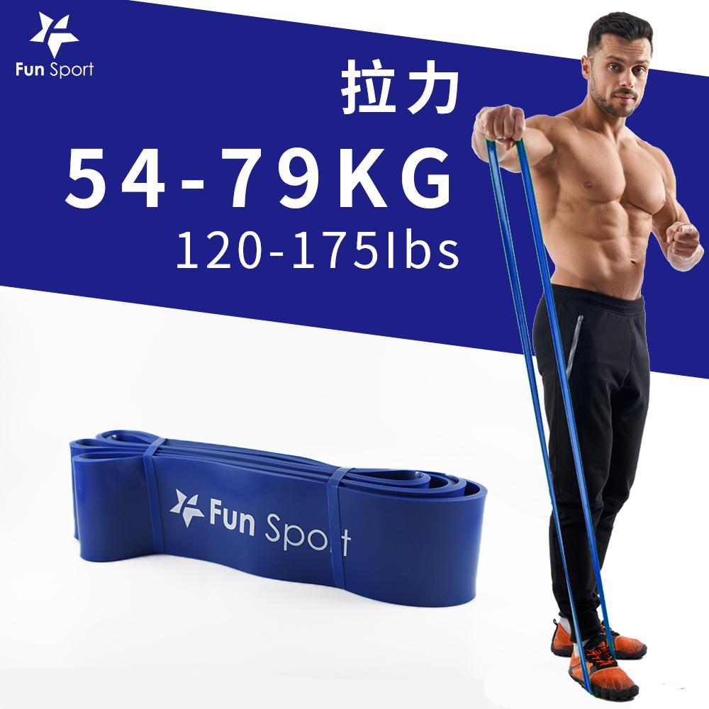 Fun Sport 健力環-乳膠環狀彈力阻力帶(藍)(阻力圈/彈力帶/拉力繩)
