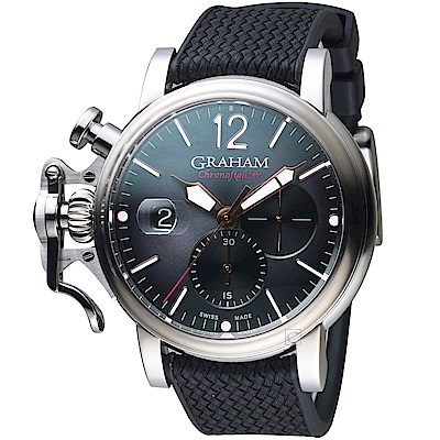 GRAHAM格林漢Grand Vintage計時腕錶-2CVDS.B25A.K134S
