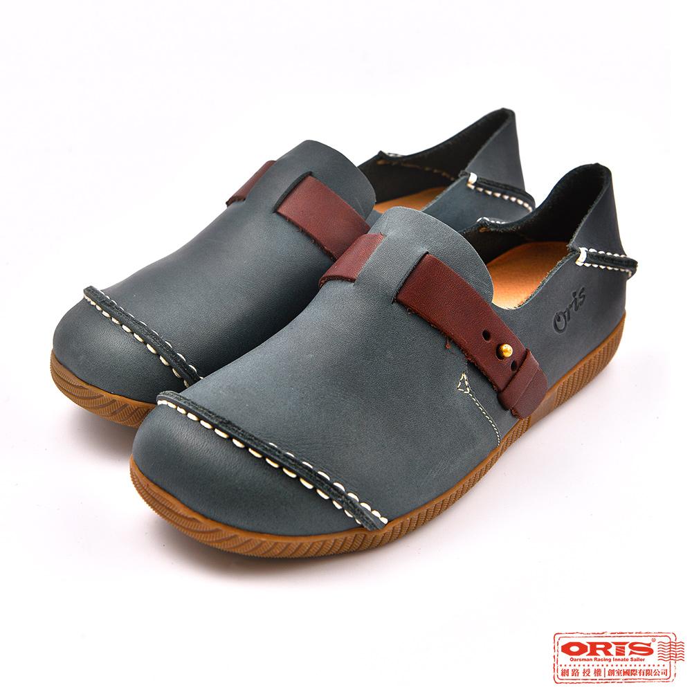 ORIS 女款 2穿真皮 休閒懶人鞋 S7728C06