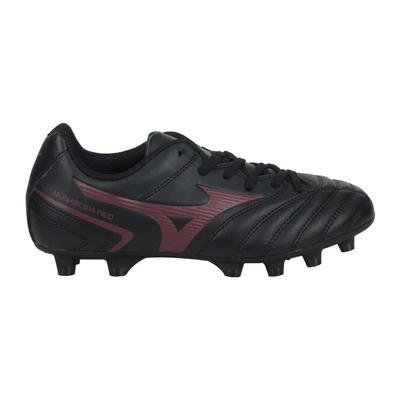 MIZUNO MONARCIDA NEO II SELECT JR男童足球鞋 P1GB210500 黑暗紅