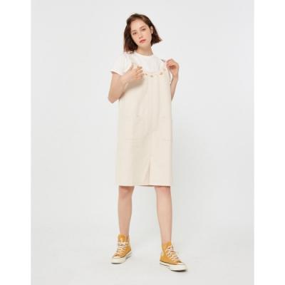 CACO-愛麗絲款吊帶裙(兩色)-女【TDI133】