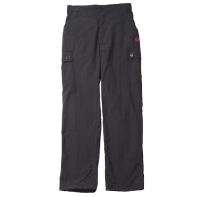 【FIVE UP】女款休閒風衣長褲-黑