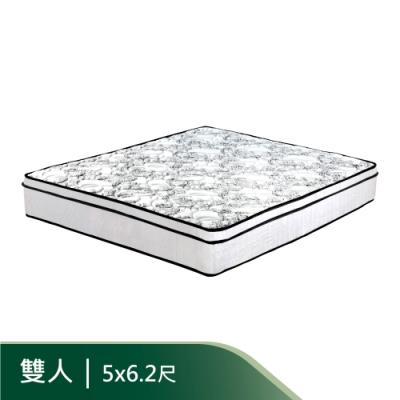 AS-克萊德5尺舒柔乳膠三線獨立筒床墊