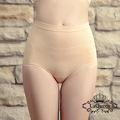 塑褲 萊卡環型塑腰彈力蠶絲塑褲-膚 La Queen