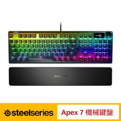 SteelSeries 賽睿 Apex 7 電競機械式鍵盤