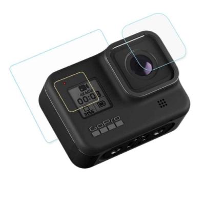 GoPro HERO8 相機鏡頭+觸控螢幕 鋼化玻璃膜 螢幕貼(贈功能視窗護膜)
