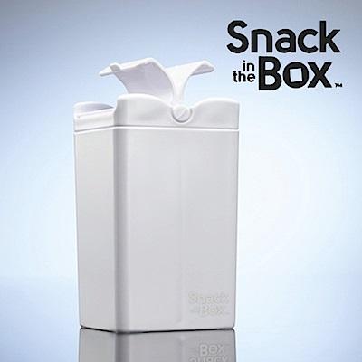 加拿大Snack in the box 兒童零食攜帶盒/分裝盒/點心罐355ml-冰雪白