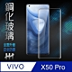 【HH】鋼化玻璃保護貼系列 VIVO X50 Pro(6.56 吋)(全覆蓋3D曲面黑邊) product thumbnail 1