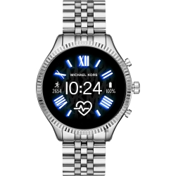 Michael Kors Access 觸控智能手錶(MKT5077)-銀色/44m