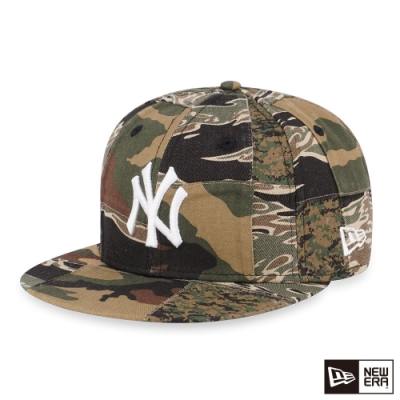 NEW ERA 59FIFTY CAMO PATCHWORK 洋基 迷彩 棒球帽