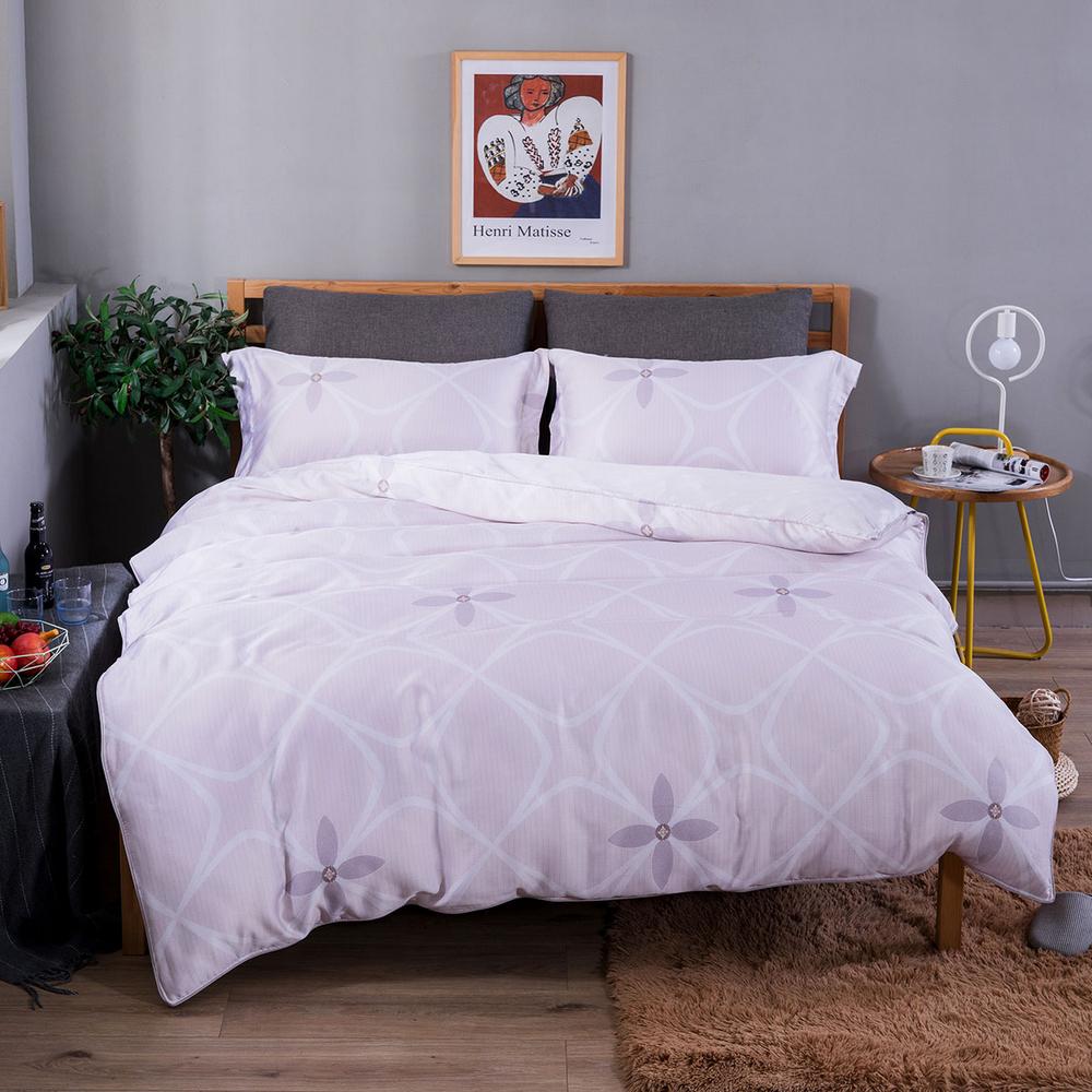 夢工場 寧靜致遠40支紗天絲兩用被床包組-加大