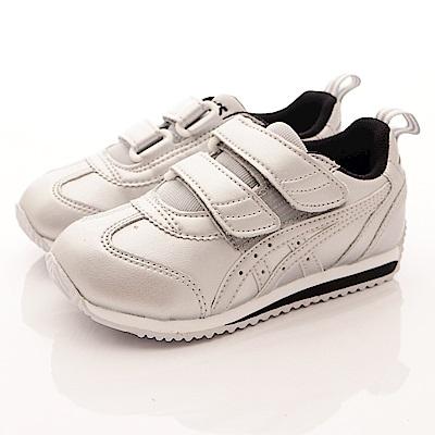 亞瑟士SUKU2機能鞋 包覆護足款 ON89-9393銀(中小童段)
