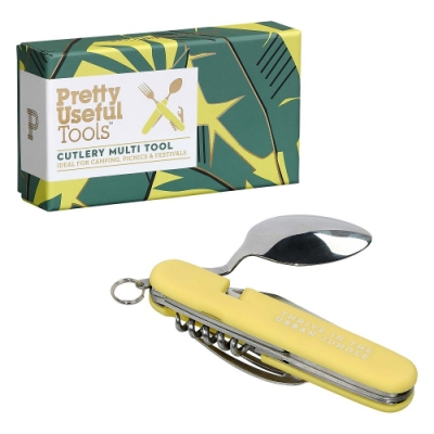 【Pretty Useful Tools】戶外露營刀叉多功能工具組