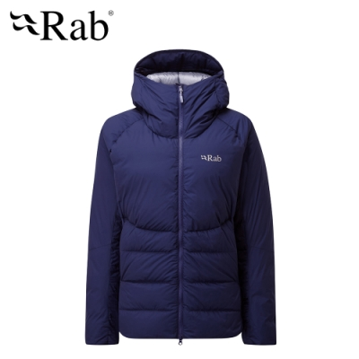 【英國 RAB】Infinity Light Jacket 防潑水保暖羽絨外套 女款 藍圖 #QDN78