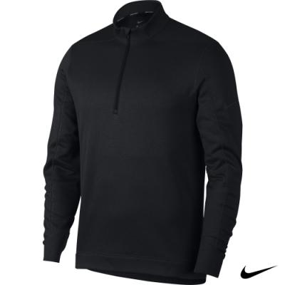 Nike 男 1/2拉鍊立領上衣 黑 AR2601-010