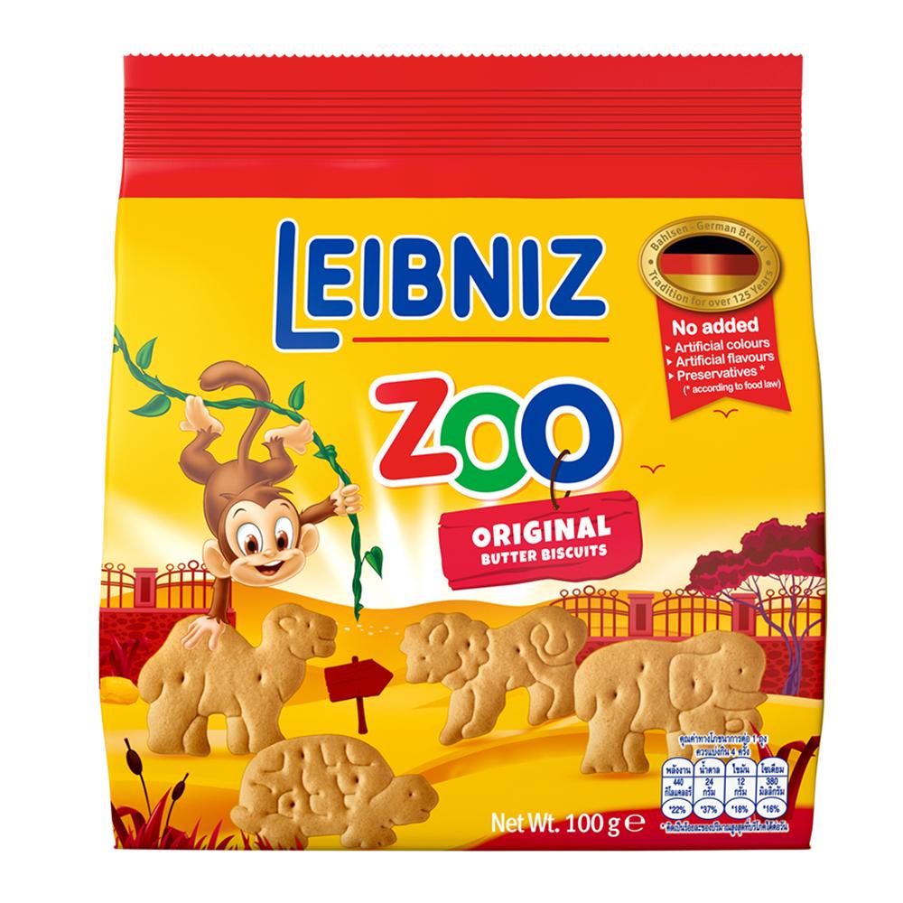 百樂順 動物造型餅乾-奶油(100g)