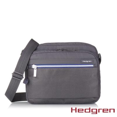 【Hedgren】INNER CITY層層收納 側背包-藍白灰