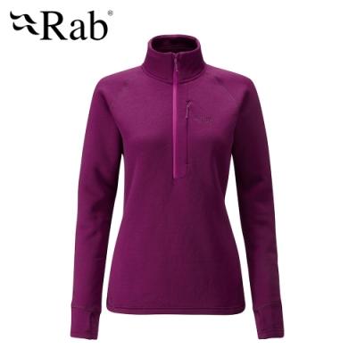 【RAB】Power Stretch Pro 保暖排汗衣 女款 醬果紫 #QFE63