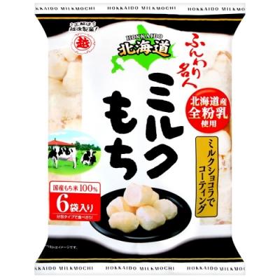 越後 巧克力風味牛奶麻糬米果(60g)