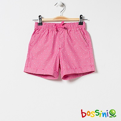 bossini女童-印花輕便短褲02粉色