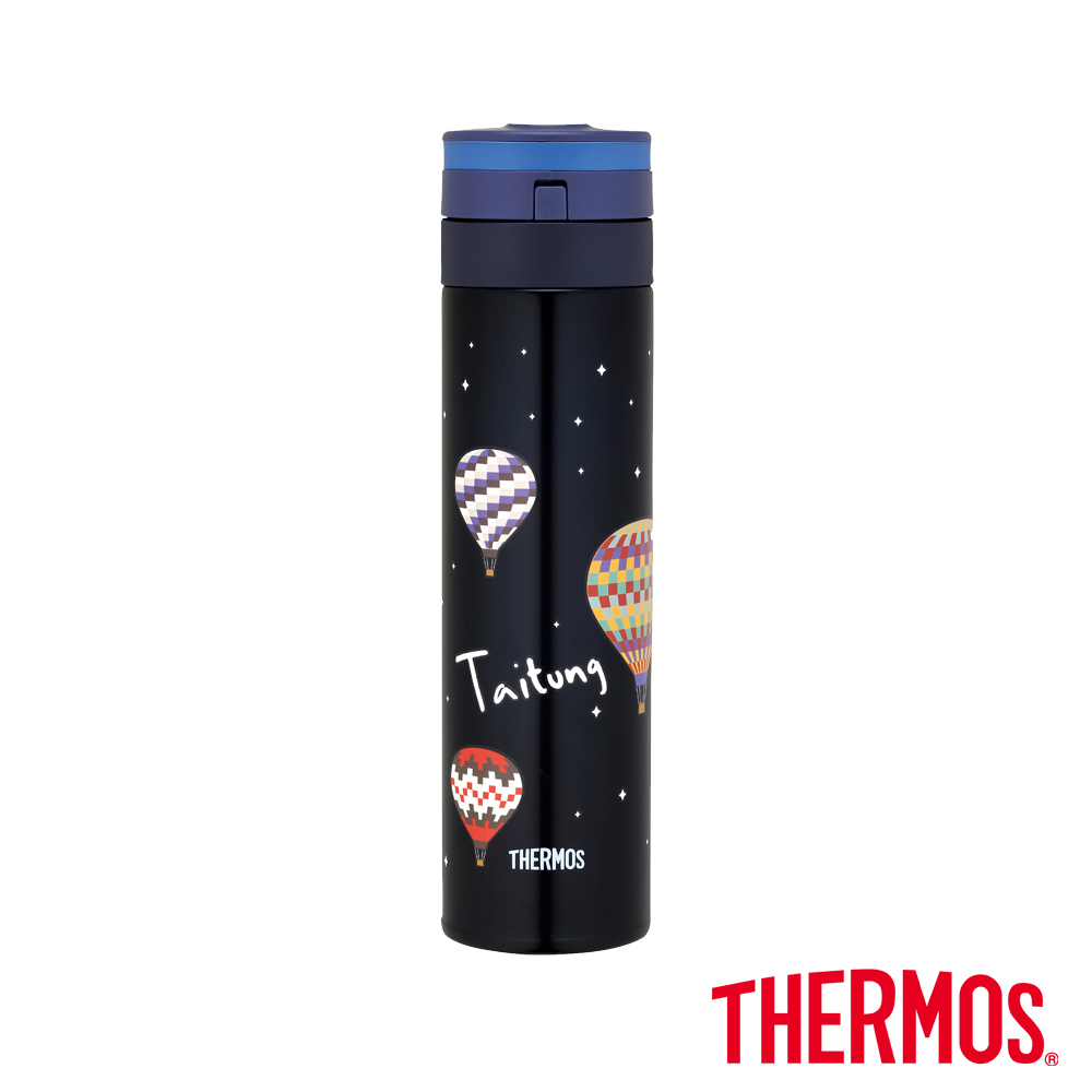 THERMOS膳魔師自動上鎖超輕量真空保溫瓶0.45L(JNS-450CT-TTT)