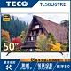 [館長推薦]TECO東元 50吋 4K 智慧連網 全面屏液晶顯示器 TL50U6TRE(無附視訊盒) product thumbnail 1