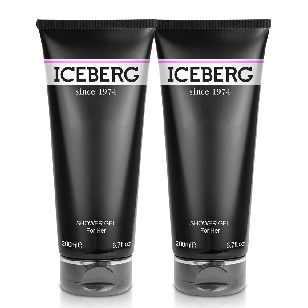 ICEBERG 冰山 1974 For Her 她的時尚伴侶女性沐浴露200ml X2入