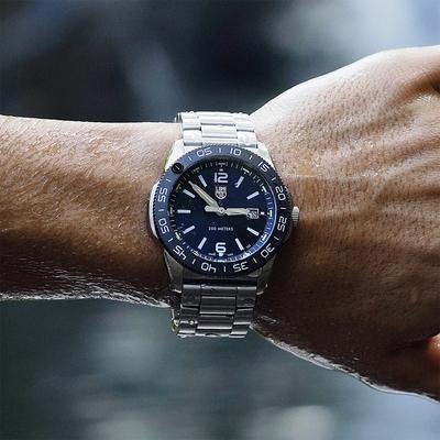 [時時樂限定] LUMINOX 雷明時 Pacific Diver太平洋潛行者鍊帶錶 44mm (多色任選)