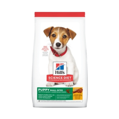 Hill′s希爾思-幼犬小顆粒-雞肉與大麥特調食譜 12kg (604463)