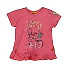 STEIFF德國精品童裝 短袖上衣 旅行趣 橘粉色
