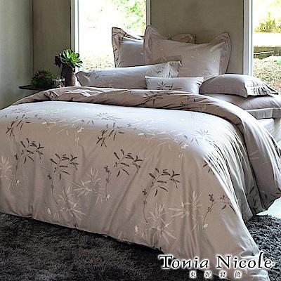 (活動)Tonia Nicole東妮寢飾 嵐山小徑環保印染精梳棉兩用被床包組(雙人)