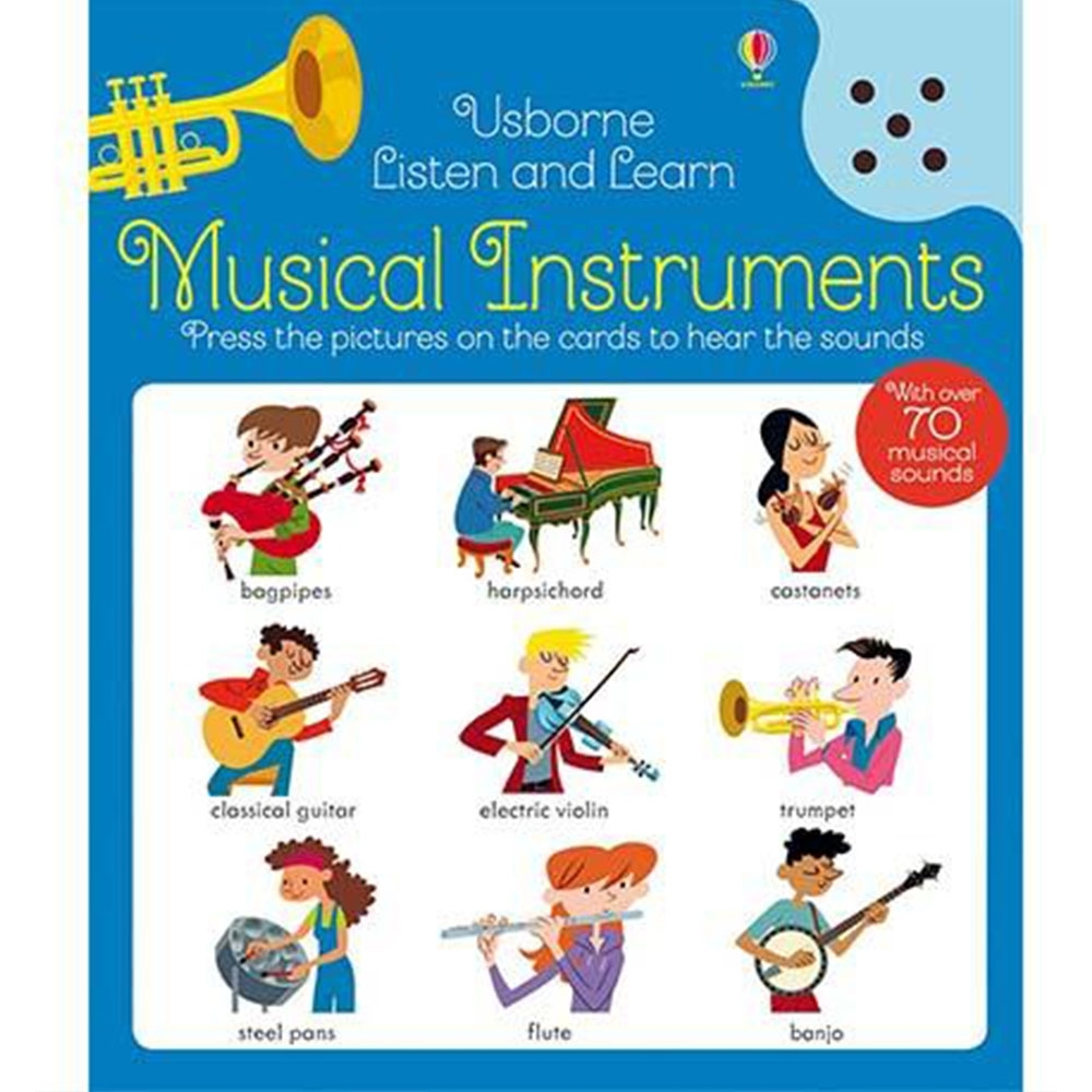 Listen And Learn Musical Instruments 認識樂器聽說學習本