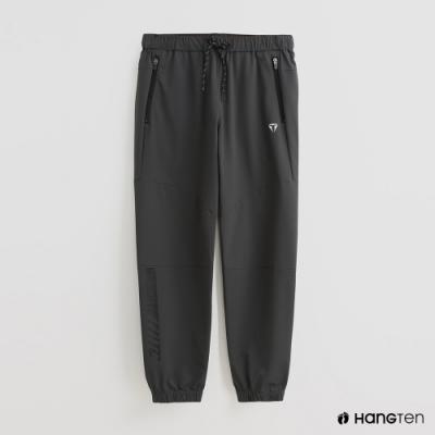 Hang Ten - 男裝 - ThermoContro-防水機能鬆緊抽繩長褲-灰