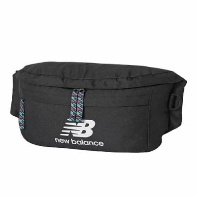 New Balance 腰包 Athletics Terrain 男女款 紐巴倫 外出 輕便 穿搭 大容量 黑 白 EQ03061MBK