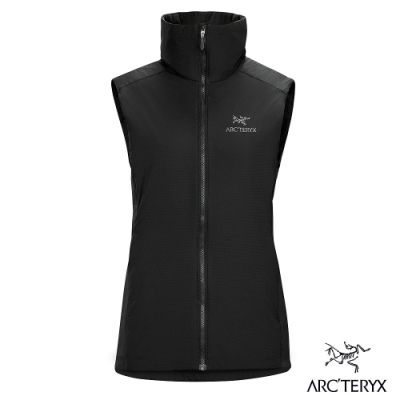 Arcteryx 始祖鳥 女 Atom LT 保暖防潑水 化纖背心 黑