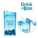 加拿大Drink in the box 兒童戶外方形吸管杯 235ml-海洋藍