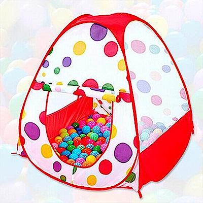 親親寶貝 粉彩點點超大兒童遊戲帳篷屋/野餐帳篷