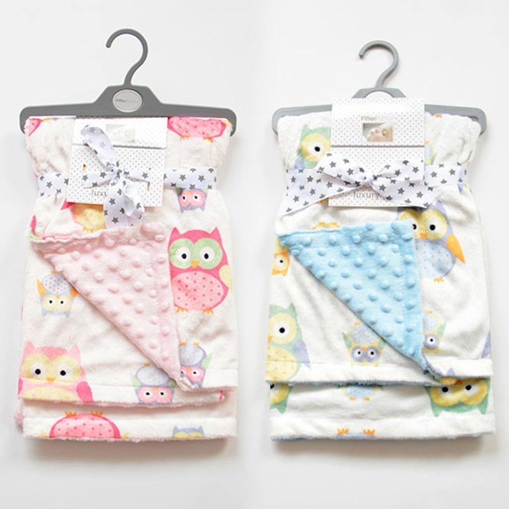 【優貝選】可愛童趣動物 超綿柔嬰兒抱被/包被/薄毯/涼被/空調毯