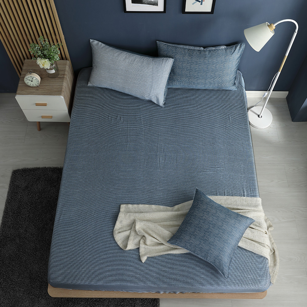 LASOL睡眠屋-100%奧地利天絲 特大床包枕套三件組230織 心情敘事