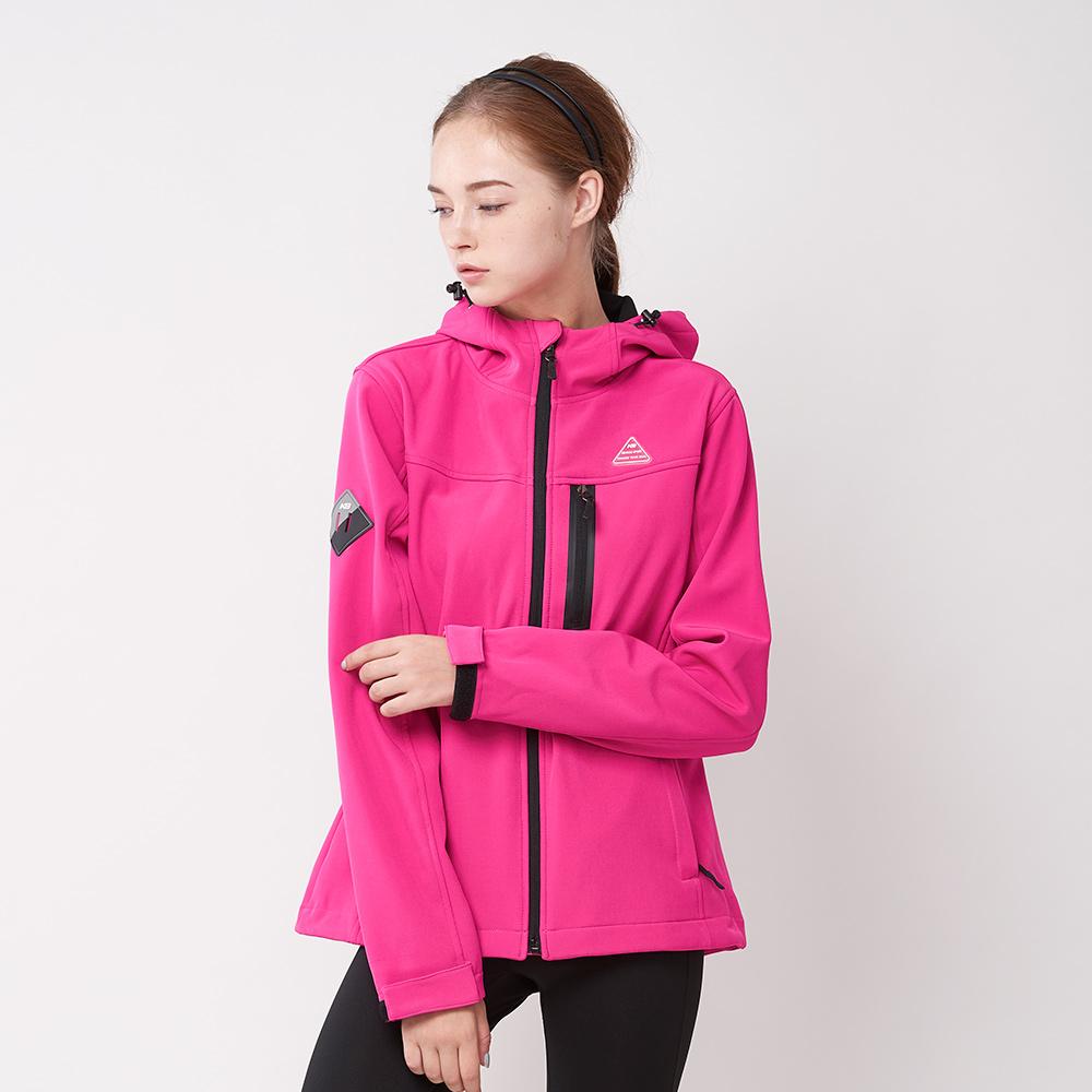 【KENBOO】女款慢跑針織外套-桃紅