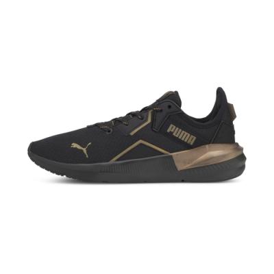 PUMA-Platinum Metallic Wns 女性訓練運動鞋-黑色