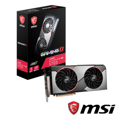 MSI微星 Radeon RX 5700 GAMING X 顯示卡