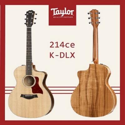 Taylor 214CE-K-DLX  電木吉他/民謠吉他/公司貨