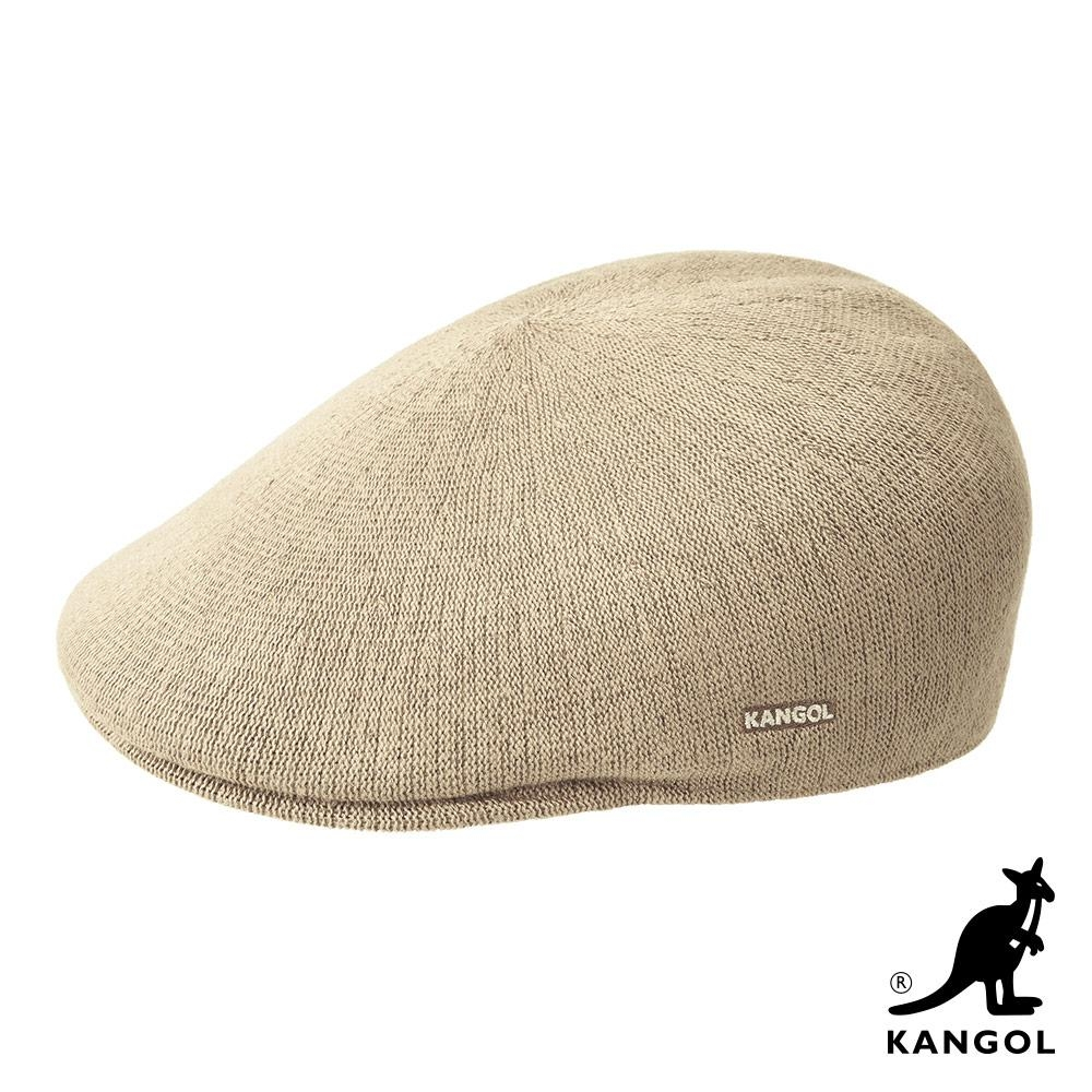 KANGOL -507 BAMBOO 鴨舌帽-米色